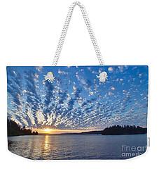 Mackerel Sky Weekender Tote Bag