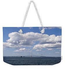 Mackinac Sky Weekender Tote Bag