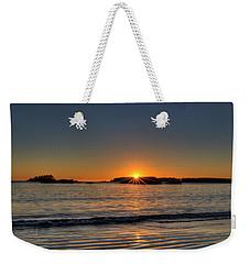 Mackinsie Beach Sun Burst Weekender Tote Bag
