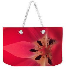Macro Beauty Tulip Weekender Tote Bag