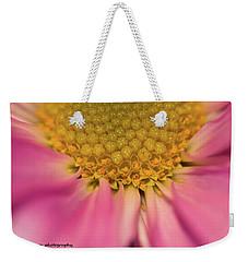 Macro Daisy Weekender Tote Bag