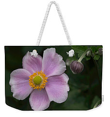 Weekender Tote Bag featuring the photograph Macro Lavender Blossom by Arlene Carmel