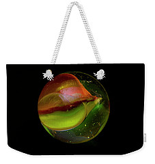 Macro Marble 2 Weekender Tote Bag by David Stasiak