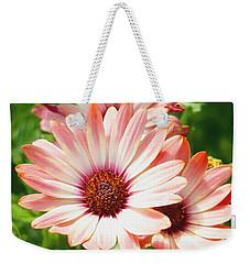 Macro Pink Cinnamon Tradewind Flower In The Garden Weekender Tote Bag