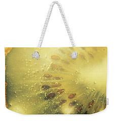 Macro Shot Of Submerged Kiwi Fruit Weekender Tote Bag