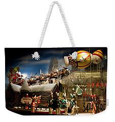 Macy's Miracle On 34th Street Christmas Window Weekender Tote Bag