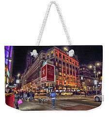 Macy's Of New York Weekender Tote Bag