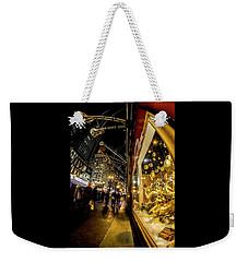 Macys Xmas Display In Chicago Weekender Tote Bag