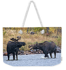 Mad Mamma Moose Weekender Tote Bag