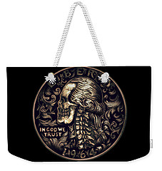 Mad Money Weekender Tote Bag by Fred Larucci