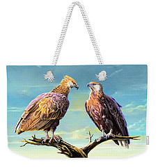 Madagascar Fish Eagle  Weekender Tote Bag