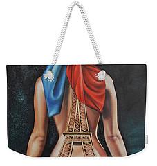 Madame Eiffel Weekender Tote Bag