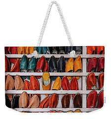 Weekender Tote Bag featuring the photograph Madas by Martin Adams