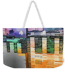Weekender Tote Bag featuring the digital art Made For Each Other by Wendy J St Christopher