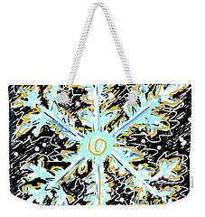 Madeline Snowflake Weekender Tote Bag