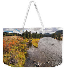 Madison River Weekender Tote Bag by Cindy Murphy - NightVisions