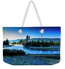 Madison River Yellowstone At Dawn Weekender Tote Bag