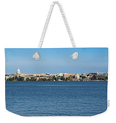 Madison Skyline From Picnic Point Weekender Tote Bag