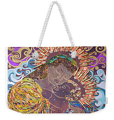 Madonna And Child The Sacred And Profane Weekender Tote Bag