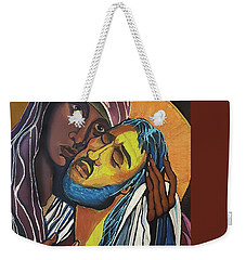 Madonna Of The Streets Weekender Tote Bag