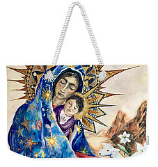 Madonna Of The Unescorted  Weekender Tote Bag