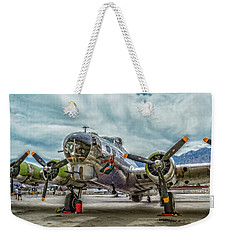 Madras Maiden B-17 Bomber Weekender Tote Bag