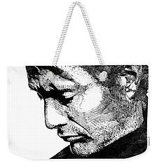 Mads Mikkelsen Weekender Tote Bag by Mihaela Pater