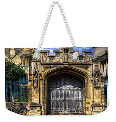 Magdalen College Door - Oxford Weekender Tote Bag