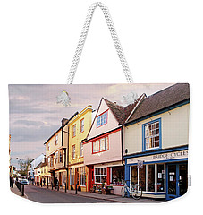 Weekender Tote Bag featuring the photograph Magdalene Street Cambridge by Gill Billington
