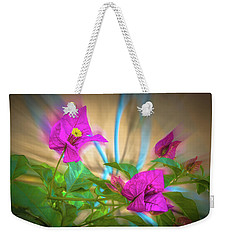 Magenta Magic Weekender Tote Bag by Mark Dunton