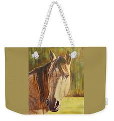 Maggie, Horse Portrait Weekender Tote Bag