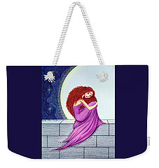 Maggie's Lullaby Weekender Tote Bag by Danielle R T Haney