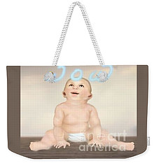 magic baby face-WOW Weekender Tote Bag
