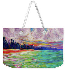 Magic Beach Weekender Tote Bag