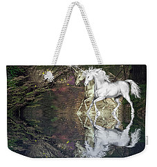 Weekender Tote Bag featuring the photograph Magic by Diane Schuster