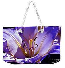Magic Floral Poetry Weekender Tote Bag