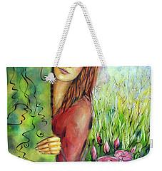 Magic Garden 021108 Weekender Tote Bag by Selena Boron