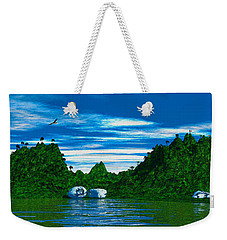 Magic Island Weekender Tote Bag by Mark Blauhoefer