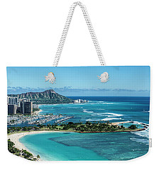 Magic Island To Diamond Head Weekender Tote Bag