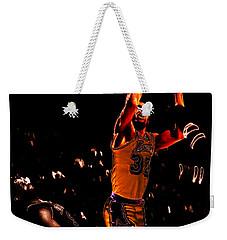 Magic Johnson Lean Back II Weekender Tote Bag by Brian Reaves