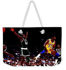 Magic Johnson No Look Pass 7a Weekender Tote Bag