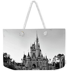 Magic Kingdom Castle In Black And White Mp Weekender Tote Bag