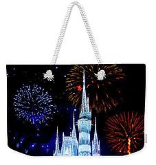 Magic Kingdom Fireworks Weekender Tote Bag