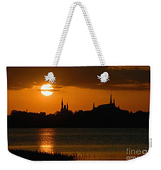 Magic Kingdom Sunset Weekender Tote Bag by David Lee Thompson
