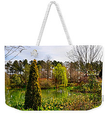 Weekender Tote Bag featuring the photograph Magic Morning by Linda Brown
