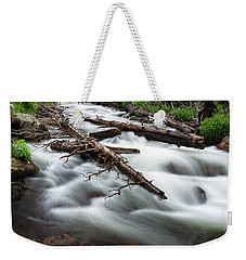 Weekender Tote Bag featuring the photograph Magic Mountain Stream by James BO Insogna