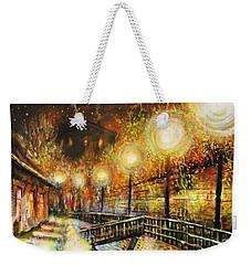 Magic Night Weekender Tote Bag