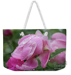 Weekender Tote Bag featuring the photograph Magic On A Rainy Day by Rachel Cohen