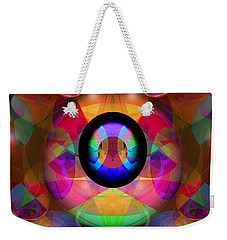 Weekender Tote Bag featuring the photograph Magic Orbs by Lynda Lehmann