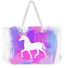 Magic Unicorn 1- Art By Linda Woods Weekender Tote Bag